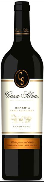 Bild von Carmenère Reserva DO - Casa Silva