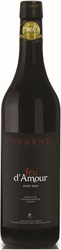 Bild von Yvorne Feu d' Amour Pinot noir AOC - AVY