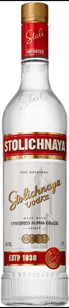 Bild von Premium Red Vodka - Stolichnaya