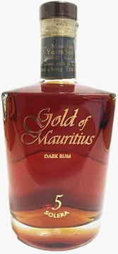 Bild von Gold of Mauritius Dark Rum Solera 5 - Litchquor