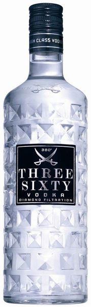 Bild von Three Sixty Vodka - Three Sixty
