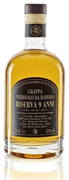 Bild von Grappa di Nebbiolo da Barolo - 9 anni - Antica Distilleria di Altavilla