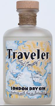 Bild von Traveler London Dry Gin 50 cl - Traveler & Company