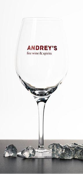 Bild von Weinglas Andrey's gross