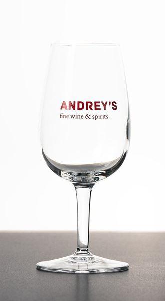 Bild von Weinglas Andrey's klein